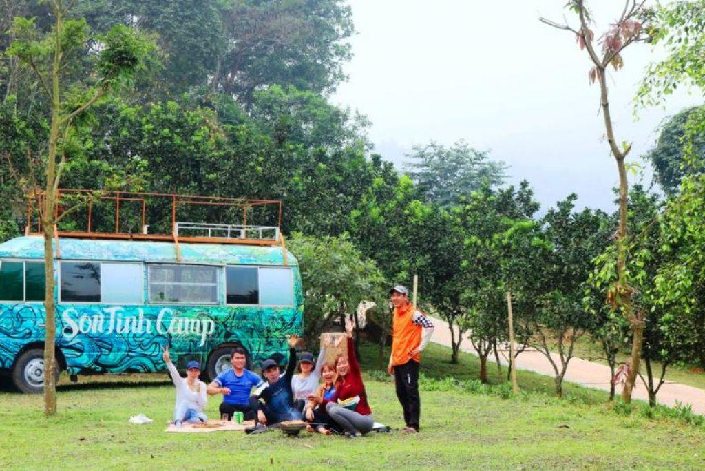 REVIEW TRẢI NGHIỆM SƠN TINH CAMP