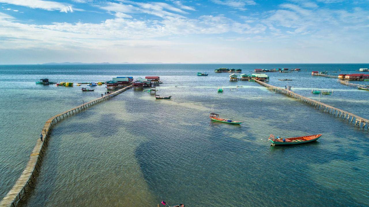 Làng chài Rạch Vẹm, Rạch Vẹm, tỉnh Kiên Giang, Việt Nam