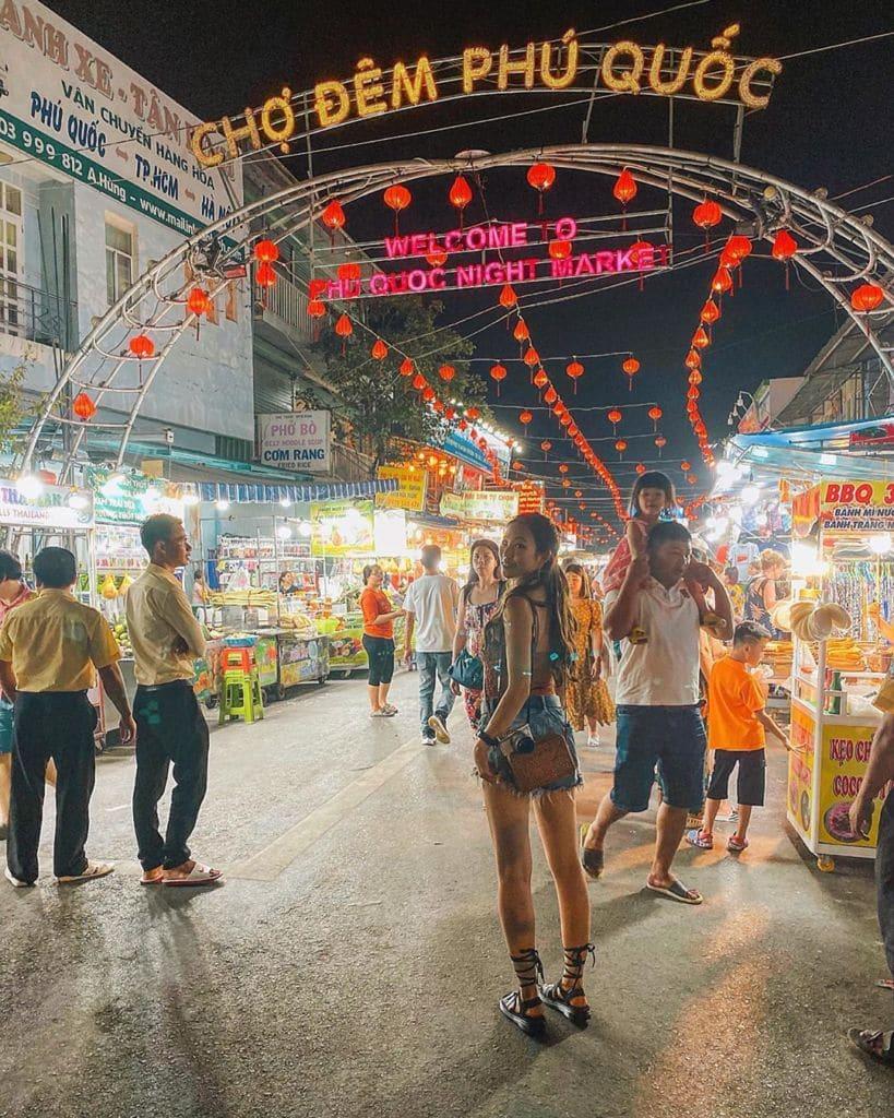 Chợ đêm Phú Quốc, Khu 1, Phú Quốc